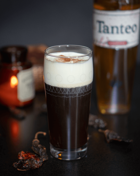 Chipotle Irish Coffee cocktail