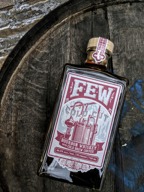 FEW Spirits Cold Cut Bourbon Whiskey