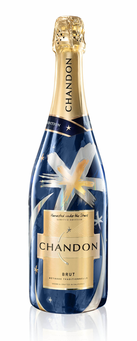 """Chandon Limited-edition """"Harvested Under the Stars"""" Brut"""