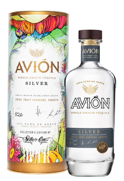 Avión Silver Tequila with Collector's Edition Canister