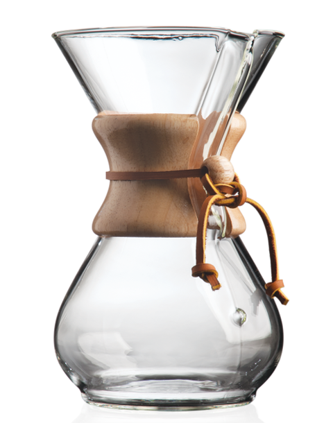 Chemex Six Cup Classic pour-over coffeemaker
