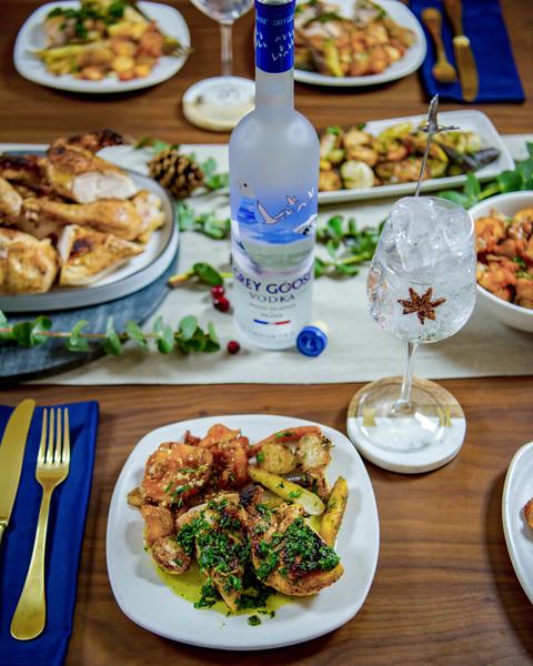Holiday Dinner by Grey Goose, Chef Jonathan Waxman and A-K Hada