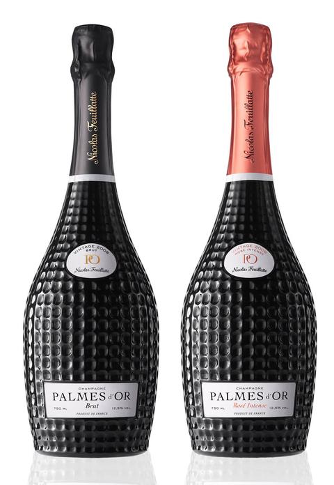 Champagne Nicolas Feuillatte Palmes d'Or Brut and Palmes d'Or Rosé 2008