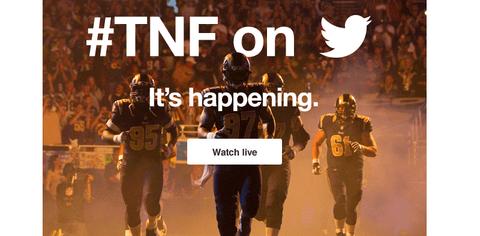 TNF on Twitter