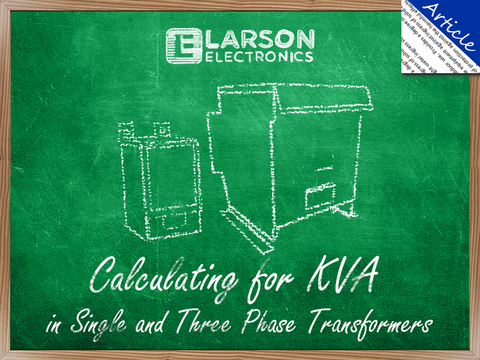 calculating for kva in single and three phase transformers sensorscalculating for kva in single and three phase transformers
