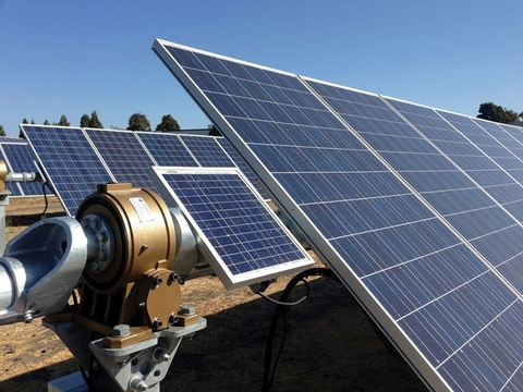 Solar Tracker Improves Energy Output Of Solar Panels