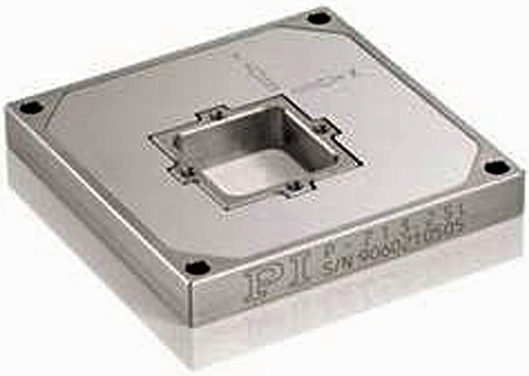 Fig. 9: A compact planar XY piezo scanner.