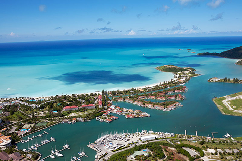 caribbean open for business antigua travel agent central