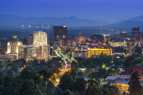With only 89,000 permanent residents, Asheville has transformed over the last couple decades into one of the most vibrant cities in the southeast.