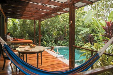 Nayara Springs Couple Plunge Pool