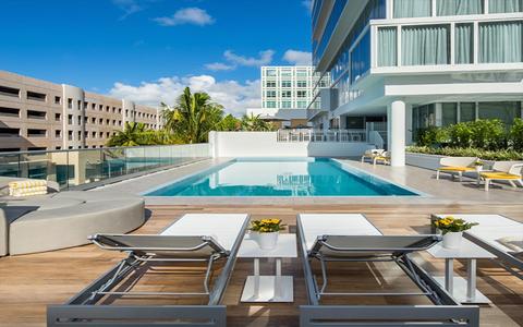 The Cool Pool Of Week Hyatt Centric South Beach Miami