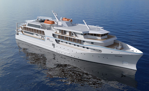 Coral Expeditions New Ship Rendering