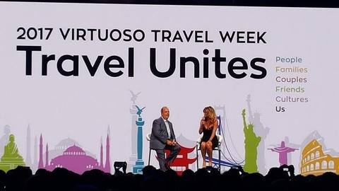 Matthew Upchurch Rachel Hunter Virtuoso Travel Week