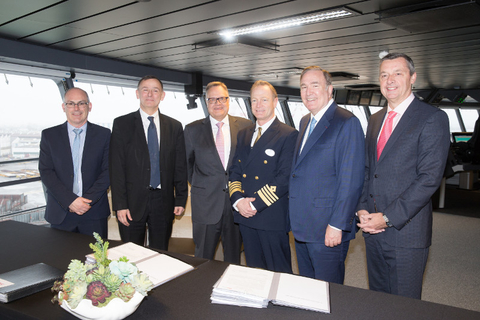 Symphony of the Seas Delivery Ceremony