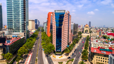 Barcelo Mexico Reforma exterior