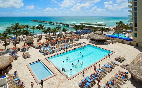 The Cool Pool Of Week Newport Beachside Hotel Resort
