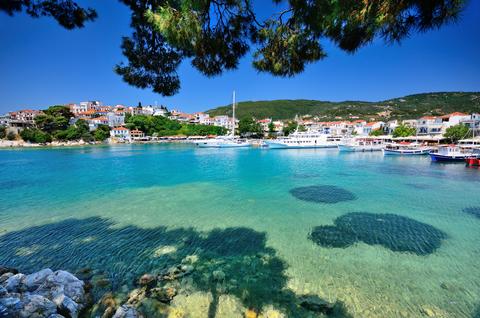 Skiathos Greece