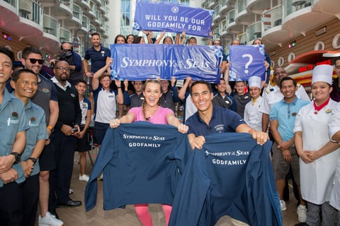 PenaVega Family Named the Godfamily of Symphony of the Seas