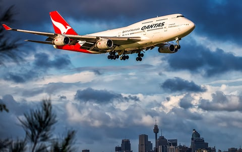 Air Travel: Qantas - Air France Codeshare, New Key West Flights