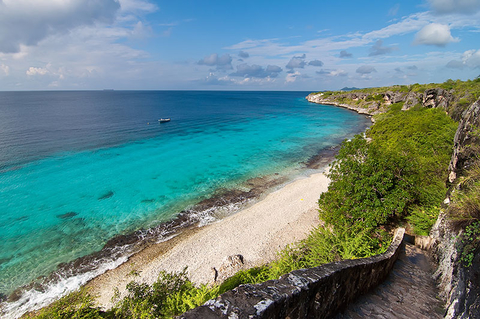 A beach on Bonaire