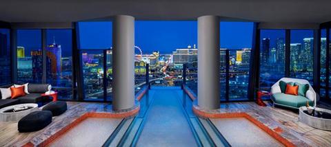 Palms Casino Resort One Floor Sky Villa