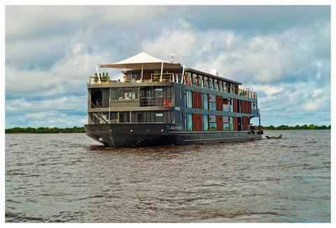 Aqua Mekong on the water