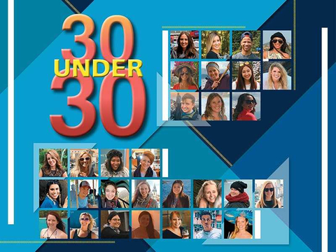 30Under30 2018 Cover Logo