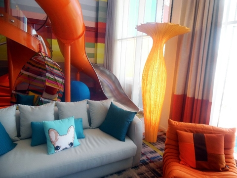 Ultimate Family Suite Symphony of the Seas Royal Caribbean Photo by Susan J Young Editorial Use Only