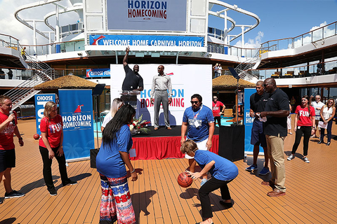 Carnival Horizon Docking Event