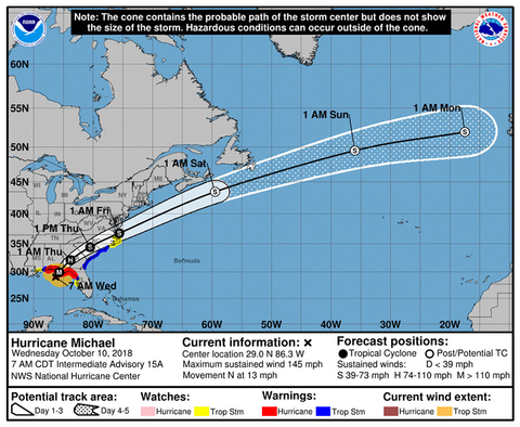 Florida Map Airports.Florida Airports Shut Down As Hurricane Michael Strengthens To Cat 4