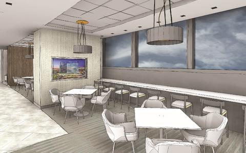 Vdara Club Lounge