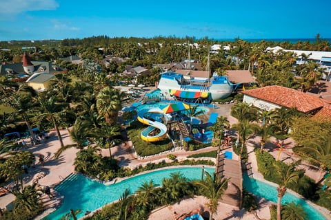 2bc7abcb3 Pirates Island Water Park is just behind the Italian Village at Beaches  Turks   Caicos.