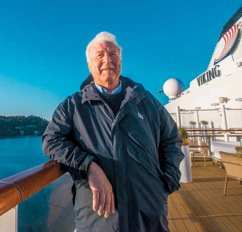 Torstein Hagen, chairman, Viking