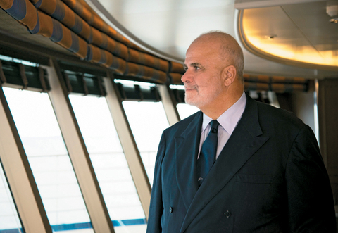 Manfredi Lefebvre D'Ovidio, executive chairman, Silversea Cruises