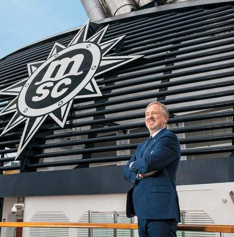 Pierfrancesco Vago, executive chairman, MSC Cruises