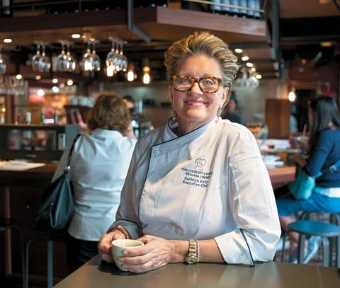 Chef Kathryn Kelly, director of culinary enrichment, Oceania Cruises