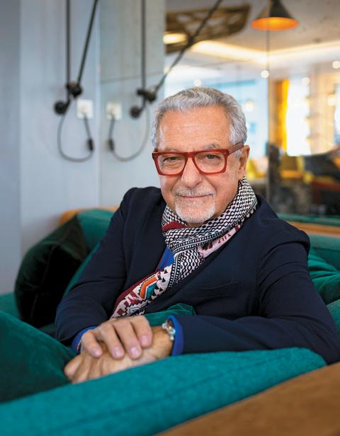 Adam Tihany, principal and founder, Tihany Design