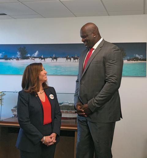 Christine Duffy, president, Carnival Cruise Line