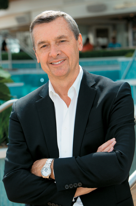 Michael Bayley, president and CEO, Royal Caribbean International