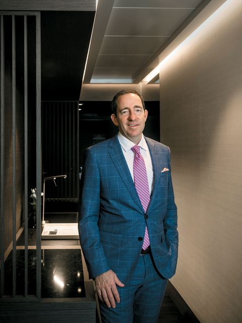Douglas Prothero, founding partner and CEO, The Ritz-Carlton Yacht Collection