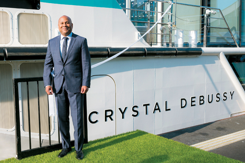 Walter Littlejohn, vice presidentand managing director, Crystal River Cruises