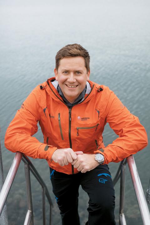 Daniel Skjeldam, CEO, Hurtigruten
