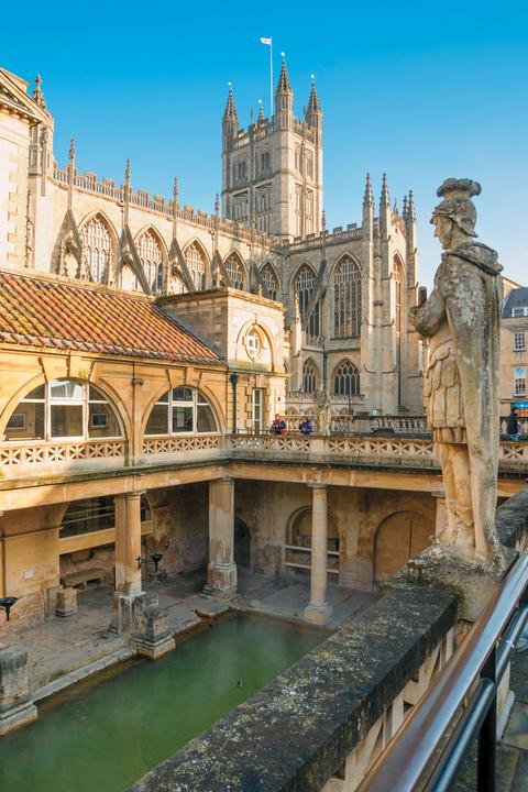 Bath England Ancient Roman Baths