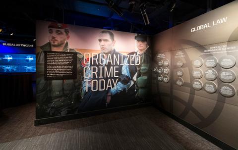 Las Vegas Mob Museum Organized Crime Today Exhibition