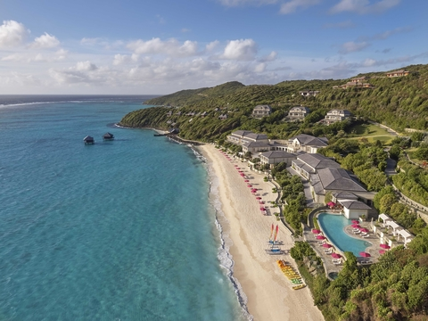 Mandarin Oriental opened its first Caribbean property in Canouan in St. Vincent and The Grenadines.