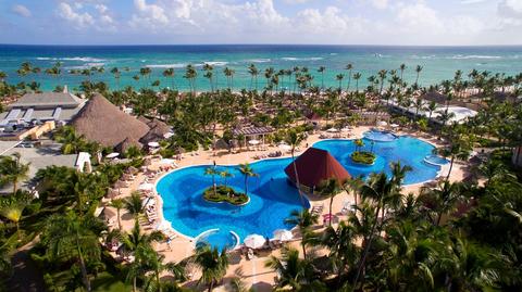 Overhead view of Luxury Bahia Principe Ambar
