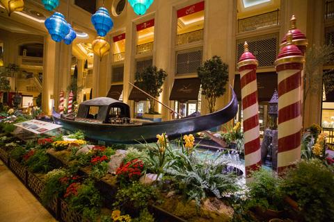 The Venetian Las Vegas Gondola Display