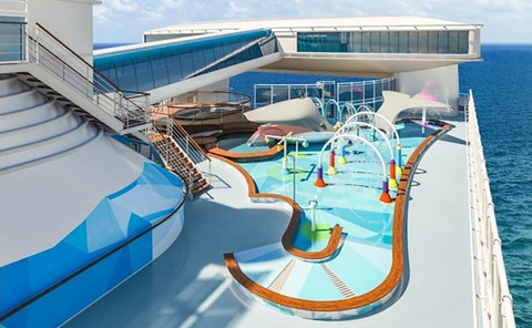 2d84bf11855 Caribbean Princess to Add New Family Splash Zone | Travel Agent Central