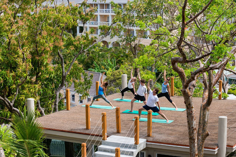 Deck Yoga at BodyHoliday Saint Lucia