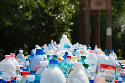 Image of plastic bottles
